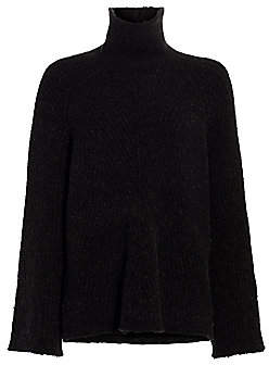 Theory Women's Oversized Ribbed Turtleneck Sweater