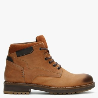 Daniel Shukka Tan Nubuck Leather Work Boots