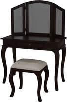 Kayu Estate Dressing Table Annalise Chocolate Dressing Table Set