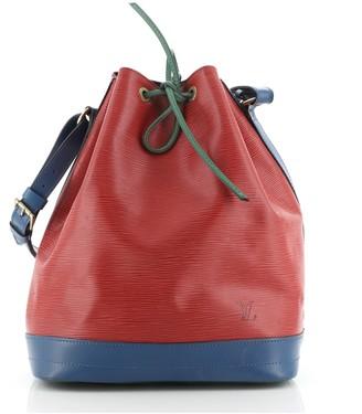 Louis Vuitton Tricolor Noe Handbag Epi Leather Large