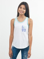 Junk Food Clothing Kids Girls Keith Haring Love Tank-su/mt-l