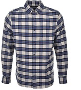 Penfield Crossover Check Shirt Beige