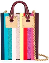 Sophie Hulme colour block clutch - women - plastic/Metal (Other) - One Size