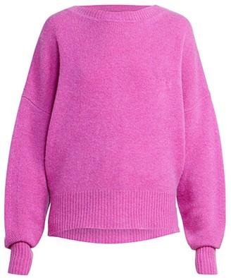Isabel Marant Caleb Backward Cardigan Cashmere Sweater