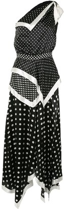 Altuzarra Petrel polka dot dress