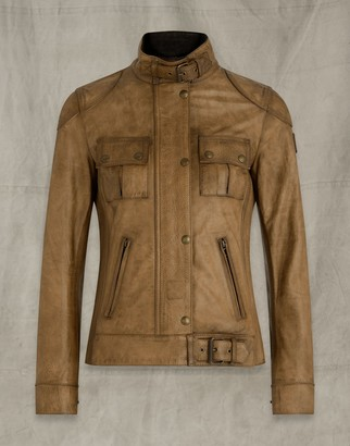 Belstaff Gangster Waxed Leather Jacket