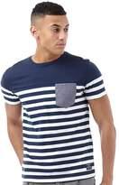 Jack and Jones Mens Rajib T-Shirt Dress Blue