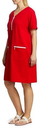 Joan Vass, Plus Size Mod Zip Pique Dress