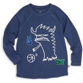 Stella McCartney Toddler's, Little Boy's & Boy's Organic Cotton Monster Graphic T-Shirt