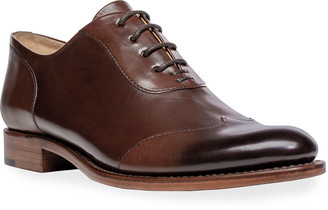 The Office of Angela Scott Mr. Evans Wing-Tip Oxford Loafers