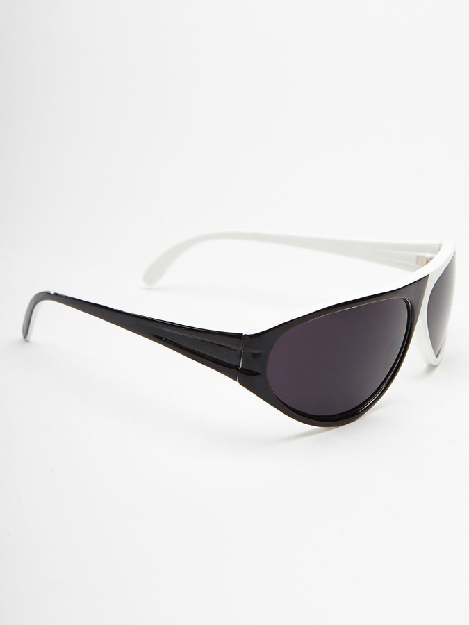 Vintage Sunglasses Vintage Two-Tone Sunglasses