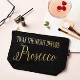 TILLYANNA 'Twas The Night Before Prosecco' Make Up Pouch
