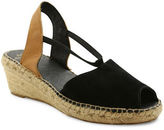 Andre Assous Dainty Espadrille Suede Wedge Sandals