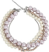 Marc Jacobs Multi Strand Pearl Statement