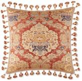 "Waterford Olympia Tasseled Decorative Pillow, 18"" x 18"""