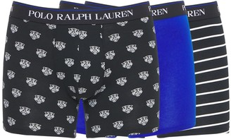 Polo Ralph Lauren 3 Pack Classic Cotton Blend Boxer Briefs