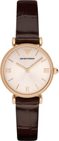 Emporio Armani AR1911 rose gold-plated stainless steel watch