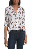 Equipment Women's Essential Sheer Cotton & Silk Shirt