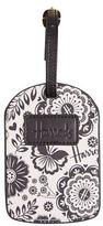 Harrods Botanical Luggage Tag