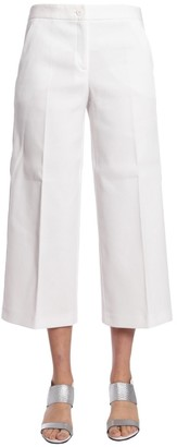Boutique Moschino Wide Leg Cropped Trousers