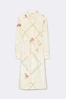 Tory Burch Afternoon Tea Printed Shirt Dress