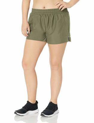 "Core 10 Amazon Brand Women's Standard Woven Run Short - 3"""