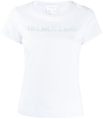 Helmut Lang embroidered 3D logo T-shirt