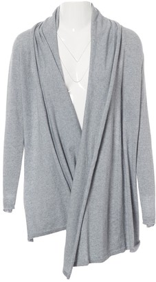 Armani Collezioni Grey Cotton Knitwear