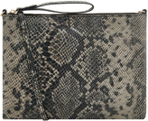 Accessorize Claudia Snake Leather Cross Body Bag