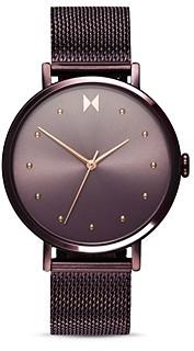 MVMT Dot Purple Mesh Bracelet Watch, 36mm