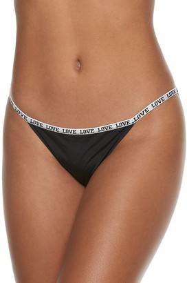 So Laserbonded String Bikini Panty