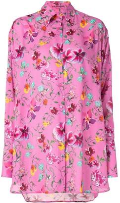 Ermanno Scervino Floral-Print Buttoned Shirt