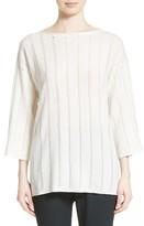 Fabiana Filippi Women's Knit Stripe Cashmere Sweater