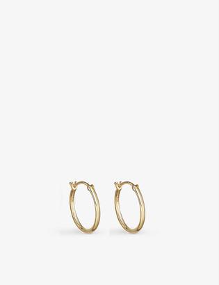 Astley Clarke 18ct Yellow Gold-Plated Vermeil Sterling Silver Hoop Earrings