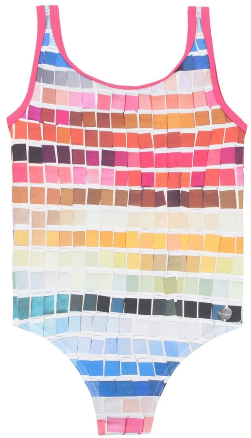 Paul Smith Colourful Printed Swimsuit