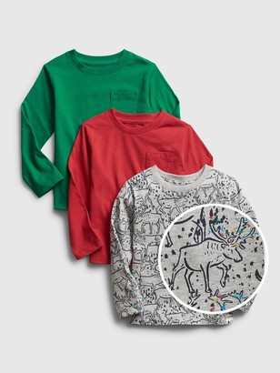 Gap Toddler Mix and Match Shirt (3-Pack)
