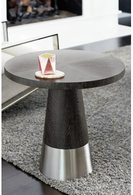 Bernhardt Decorage Pedestal End Table