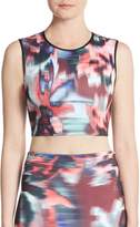 Clover Canyon Women's Floral Ikat Cropped Top