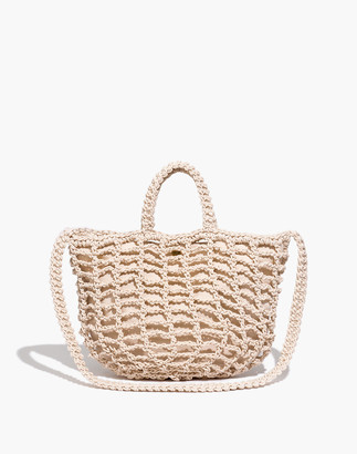 Madewell The Crocheted Shoulder Bag