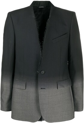 Givenchy Single-Breasted Gradient Blazer