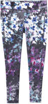 Joe Fresh Kid Girls' Print Active Legging, Pink (Size XL)