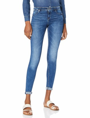 Only Women's Onlallan Reg Sk Push Up Bb Soo1073dpl Skinny Jeans