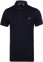 Paul & Shark Deep Navy Pique Polo Shirt