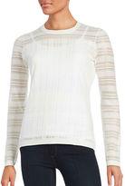 Bailey 44 Mesh Striped Sweater