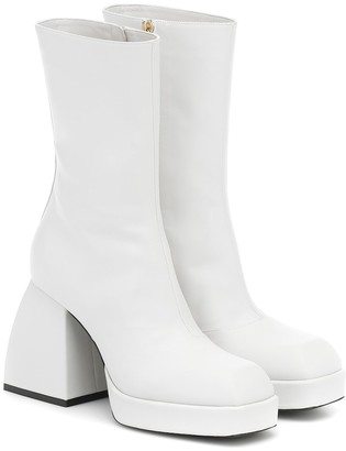 Nodaleto Bulla Corta leather ankle boots