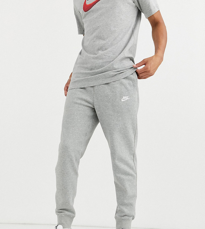 Tall Club cuffed sweatpants in gray