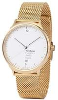 Mondaine 'Helvetica' Quartz Stainless Steel and Gold Plated Casual Watch(Model: MH1.L2211.SM)