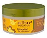 Alba Body Cream,kukui Nut, 6.5 Oz