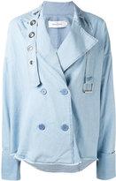 Marques Almeida Marques'almeida - denim jacket-style shirt - women - Cotton - S