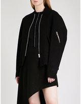 Yang Li Bevene wool bomber jacket